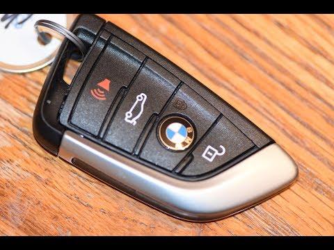 DIY BMW - How to change SmartKey Key fob Battery on BMW X3 X5 X6