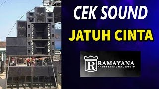 Download lagu Cek Sound Jatuh Cinta Instrument MP3