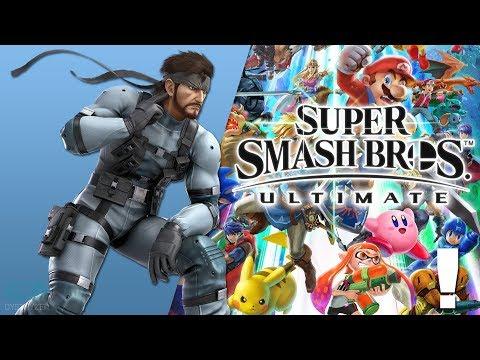 Theme Of Solid Snake (Metal Gear 2: Solid Snake) [New Remix] - Super Smash Bros. Ultimate Soundtrack
