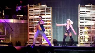Britney Spears - Me Against The Music (Piece Of Me Tour, Sandviken, Sweden, 11.08.2018)
