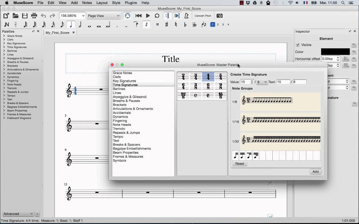 Custom time signature musescore Download Cracked Version