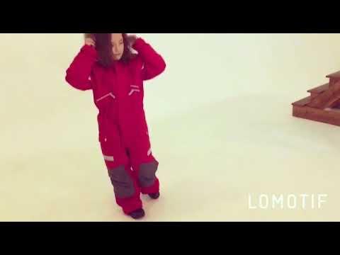 Зимний мембранный комбинезон Valianly цвет Green Dino - YouTube