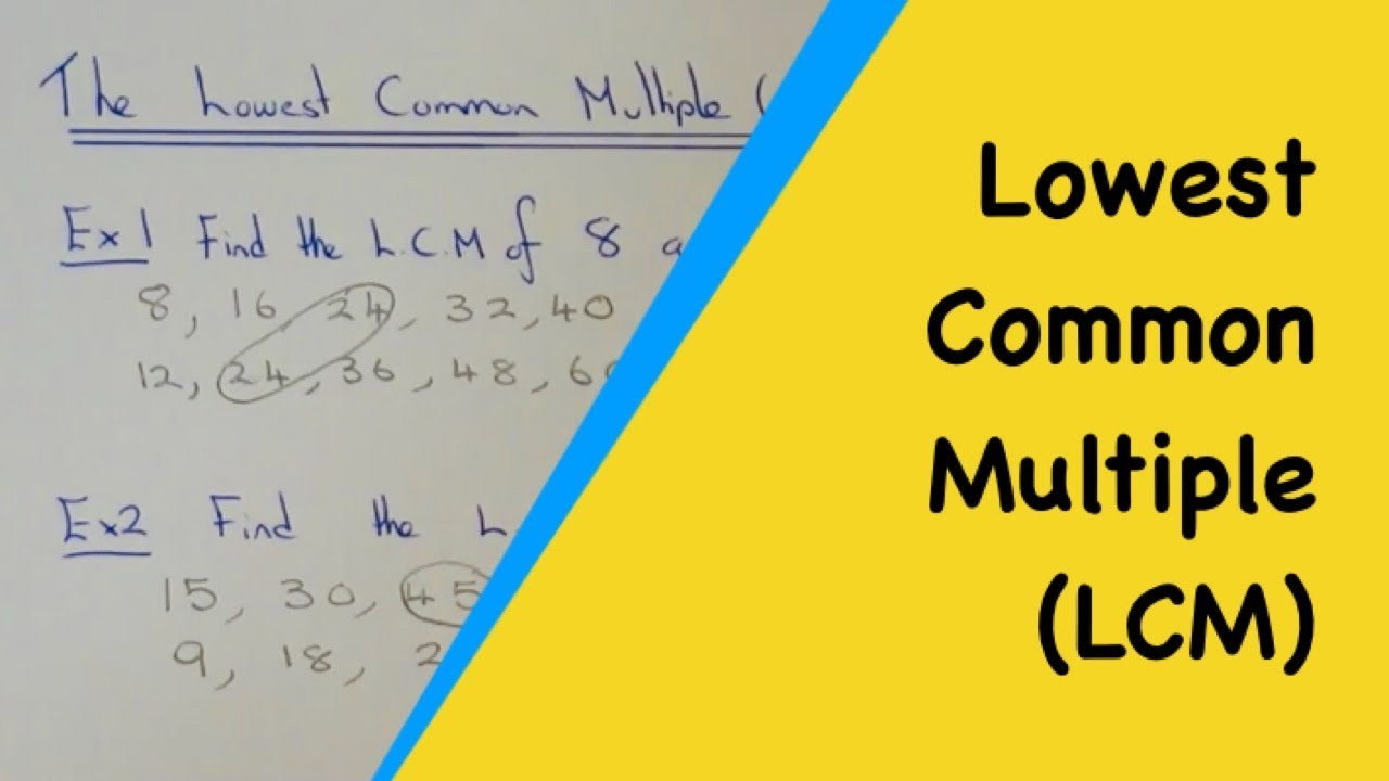 Worksheet Lcm Of 15 And 10 worksheet lcm of 15 and 10 mikyu free how to work out the lowest common multiple from