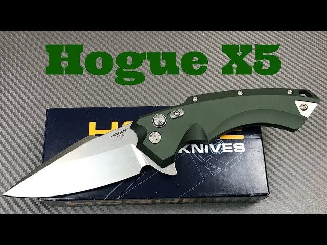 Hogue X5 flipper Knife update (New Colors) plus Detailed disassembly pictures