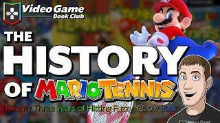 The History of Mario Tennis (1995-2018)   Video Game Book Club