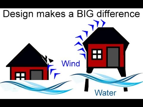Yolanda Typhoon House Design For Flooding And Earthquake   YouTube