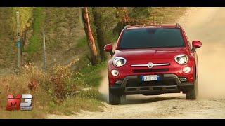 Fiat 500X cross 2015 - first off road test drive only sound