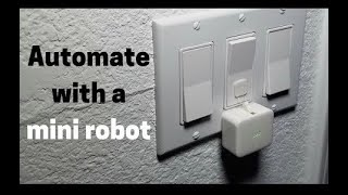 SwitchBot Review - Tiny Robot Arm Controls Lights & TV