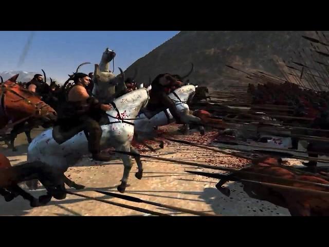 Pike vs horse  Total War Attila