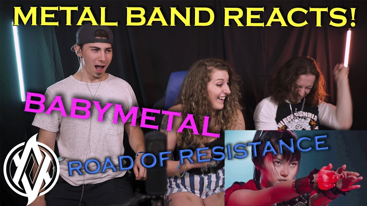 Metal Band Reacts! | BABYMETAL - Road of Resistance (LIVE!)
