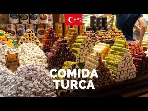 COMIDAS INCRÍVEIS DE ISTAMBUL - Turquia #2