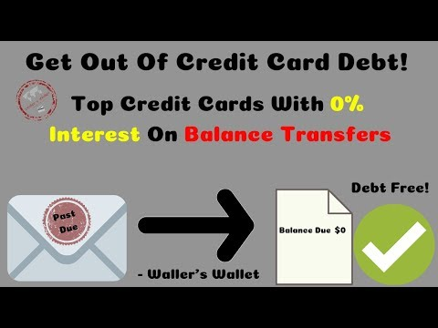 Best Balance Transfer Credit Cards With 0% Interest | Waller's Wallet