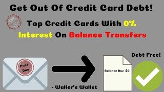 Best Balance Transfer Credit Cards With 0% Interest | Waller