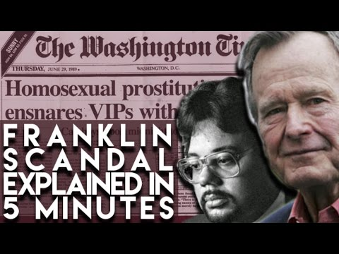 Franklin Coverup Explained  Conspiracy of Silence