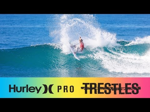 Florence vs. Ferreira vs. Ohhara - Round One, Heat 5 - Hurley Pro at Trestles 2017