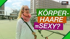 Stehen Frauen auf Körperbehaarung (Straßenumfrage)