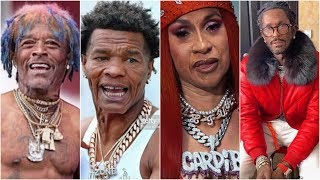 Rappers and Celebs Use FaceApp To Turn Old Cardi B Young Thug Lil Uzi Vert Lil Baby