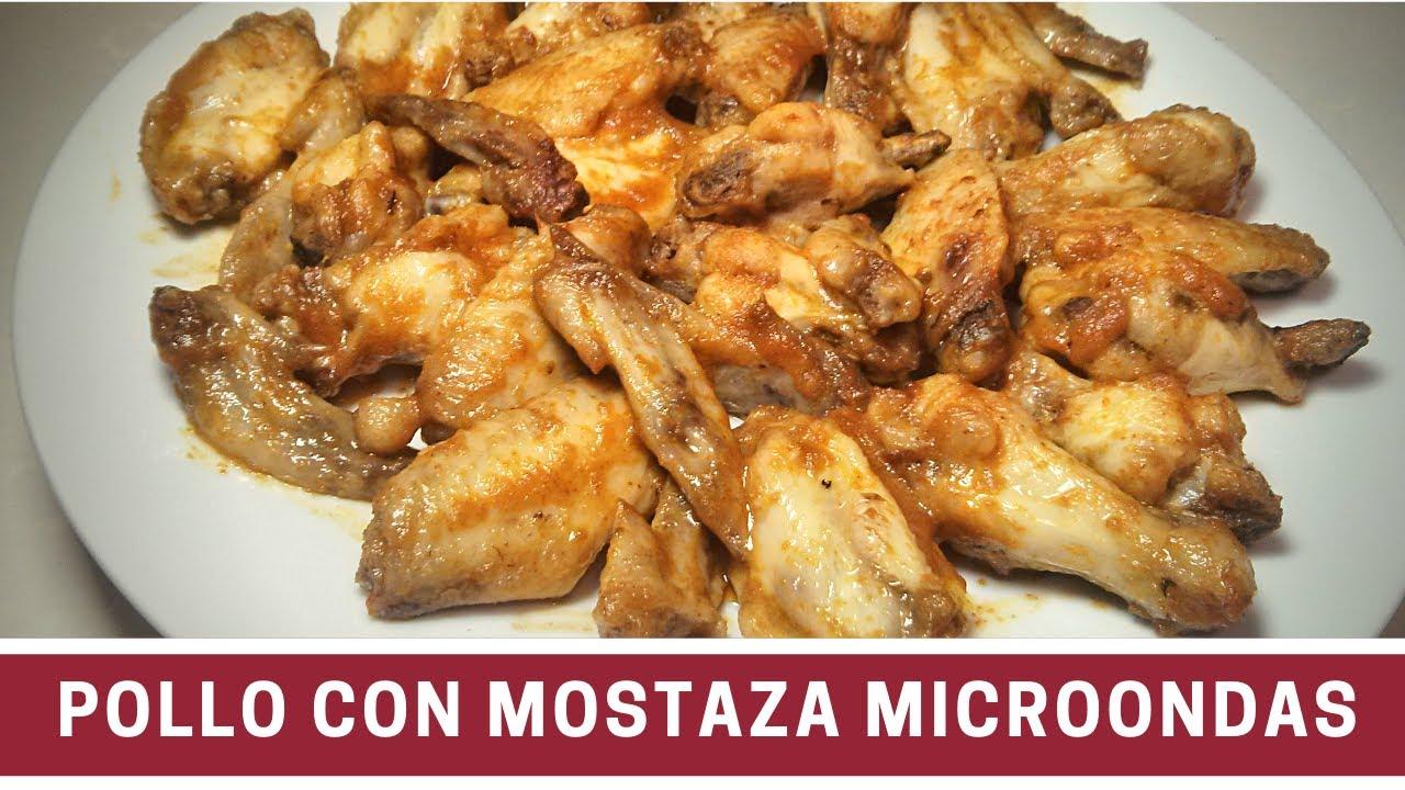 Pollo a la mostaza en el microondas cocinar en for Cocinar en microondas
