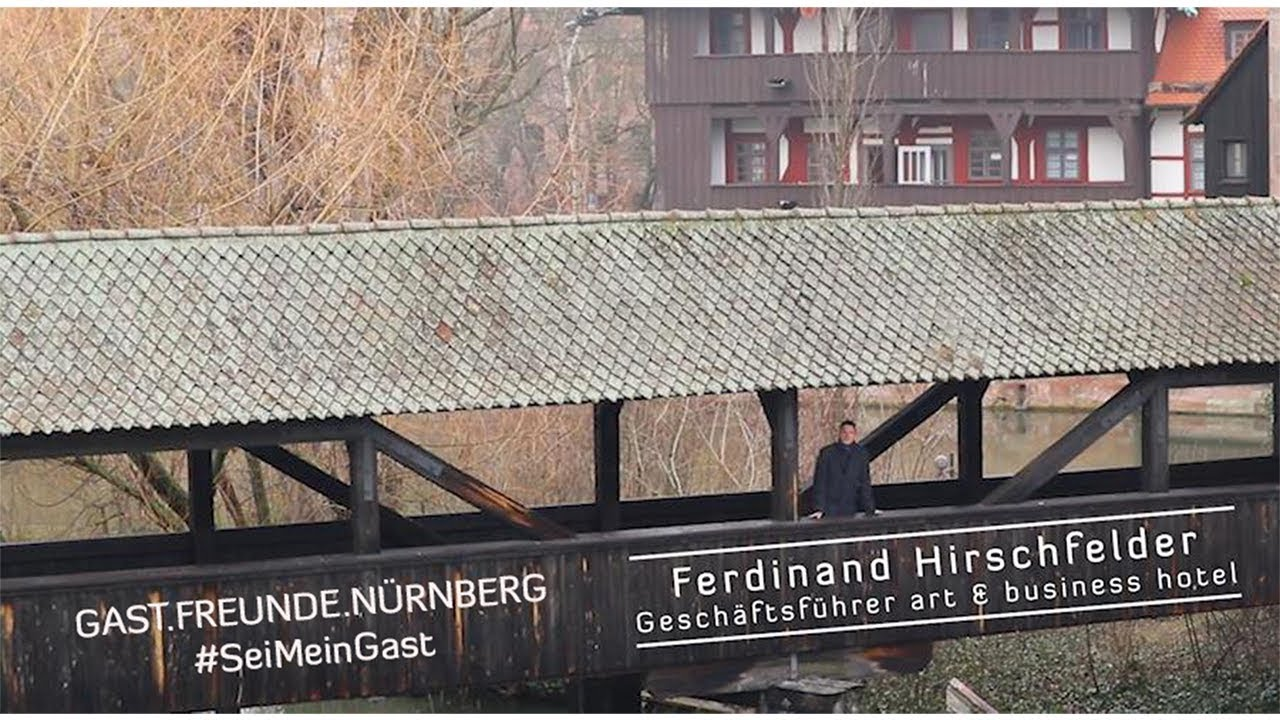 Ferdinand Hirschfelder Art Business Hotel Nürnberg Tourismus