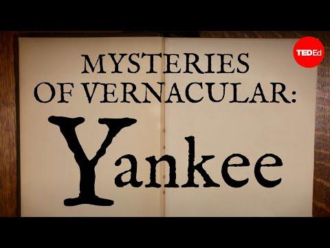 Video image: Mysteries of vernacular: Yankee - Jessica Oreck and Rachael Teel