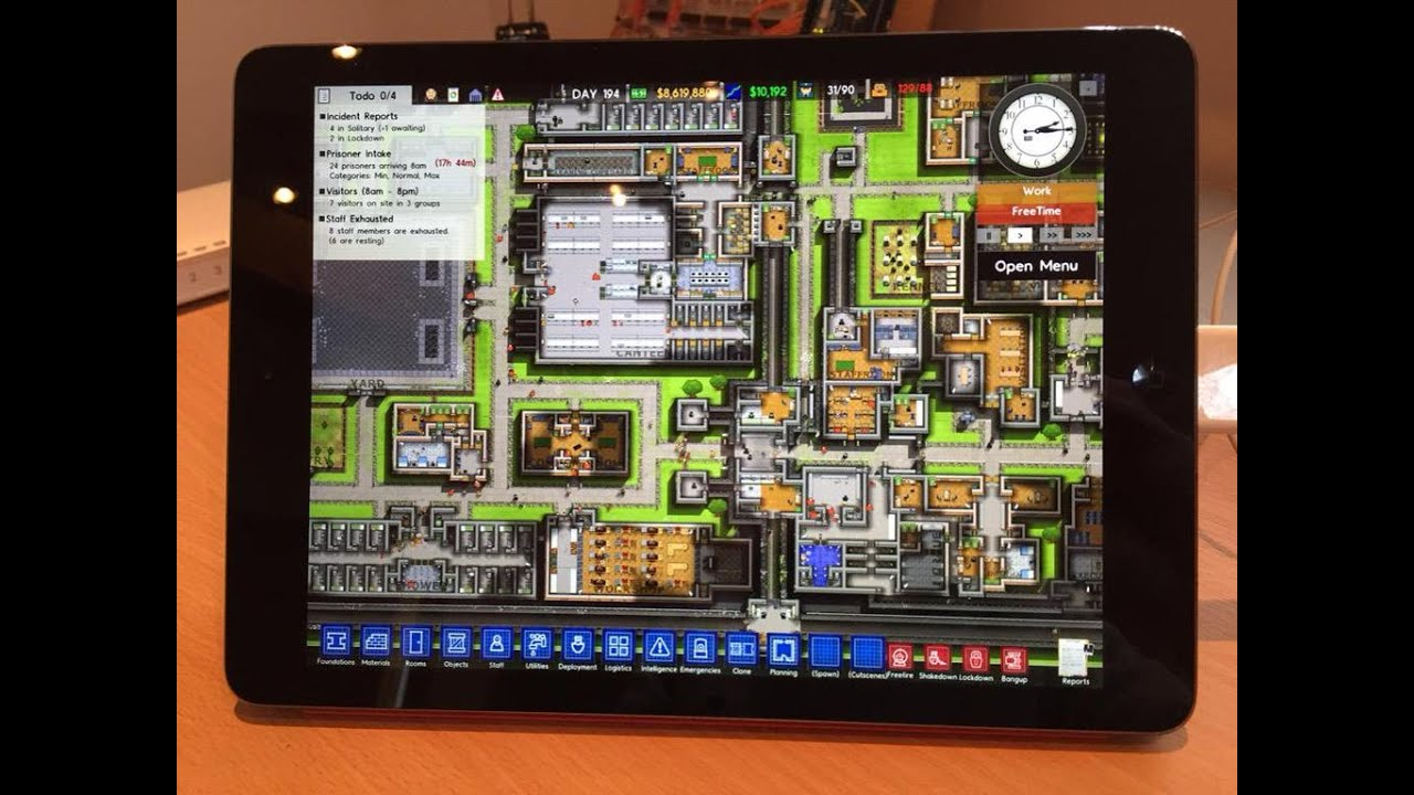 Prison Architect Alpha 30 Ipad Android First Look