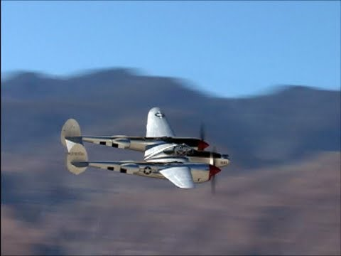 "Lockheed P-38 ""Forked-Tail Devil"" Flight Demo"