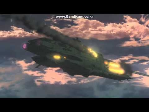 Yamato 2199 Rainbow Star Cluster Battle fighter scene