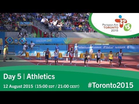 Day 5   Athletics   Toronto 2015 Parapan American Games