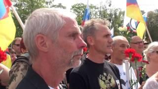 Friedensfahrt Berlin - Moskau, Tag 03: Die Fahrt von Kaliningrad (Russland) nach Litauen