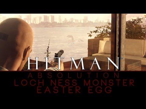 Hitman: Absolution - Loch Ness Monster Easter Egg