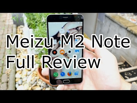 Meizu M2 Note Review - MTK 6753 - FHD Display - TOP Sub 200$ Chinaphone 2015  [4K]