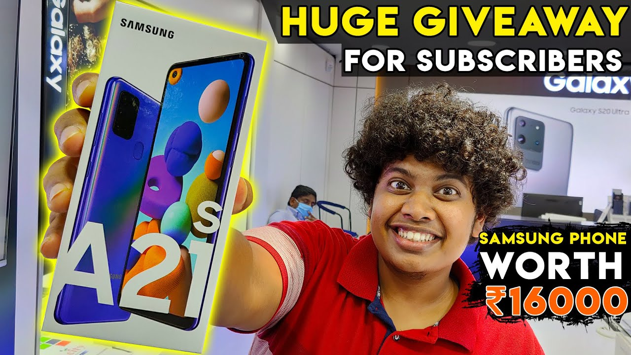 Samsung A21s Give Away - Worth 16000 - Rules To be Followed!!! | Irfan's View