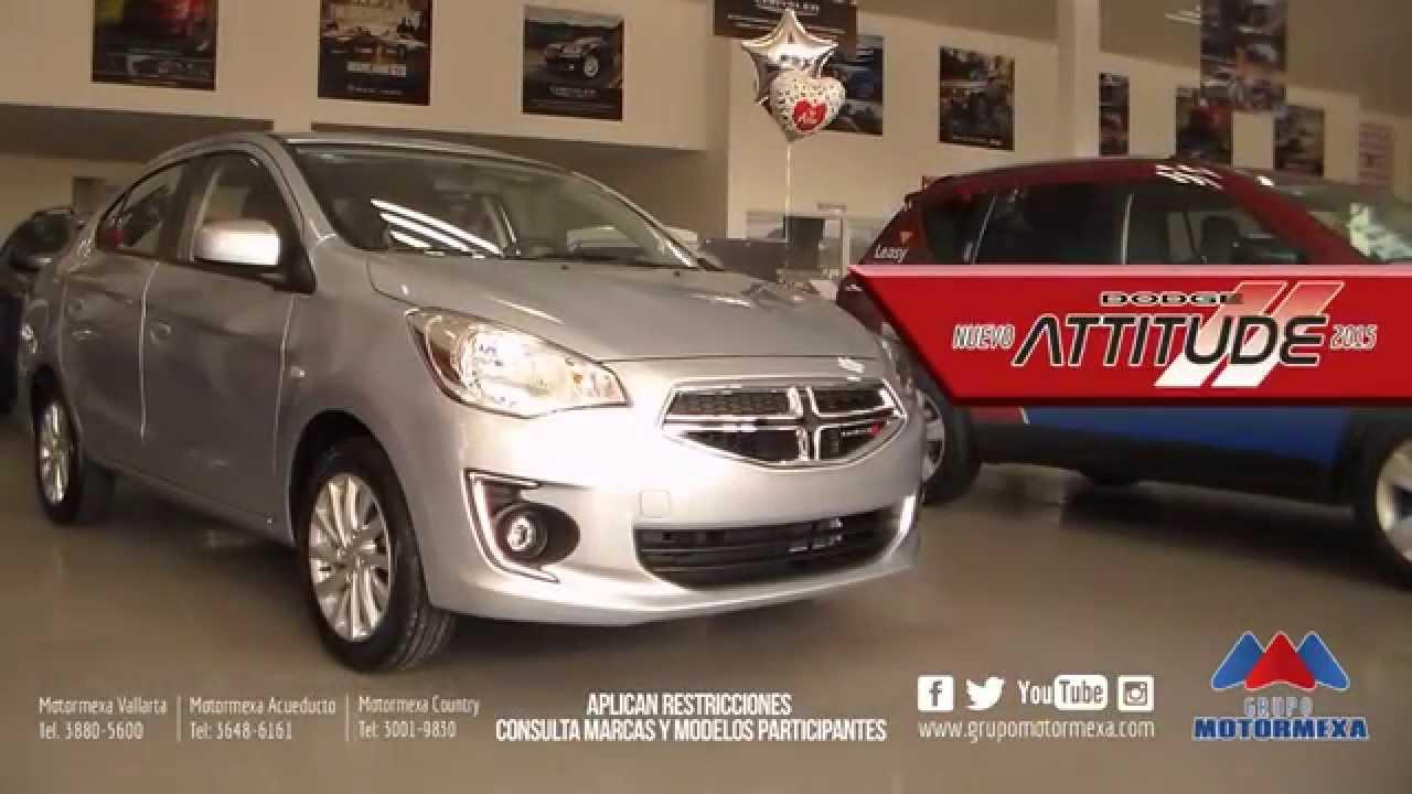 Dodge attitude 2015 grupo motormexa