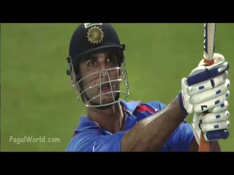 Dhoni finishes off in Style !!..