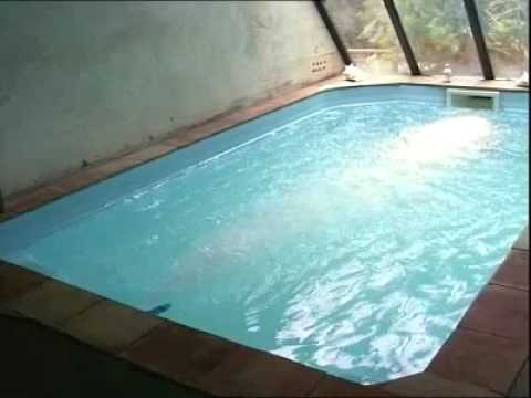 piscine provence polyester micro pool youtube. Black Bedroom Furniture Sets. Home Design Ideas