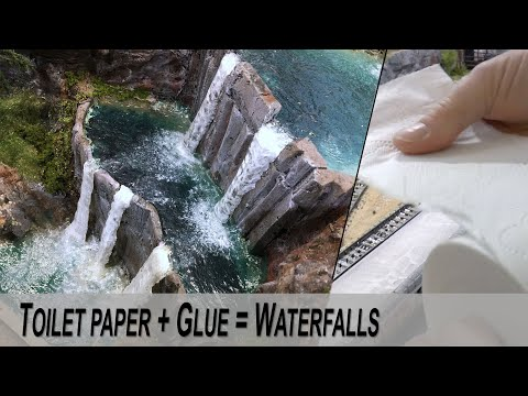 Model Realistic Waterfalls – Detailed guide DIY