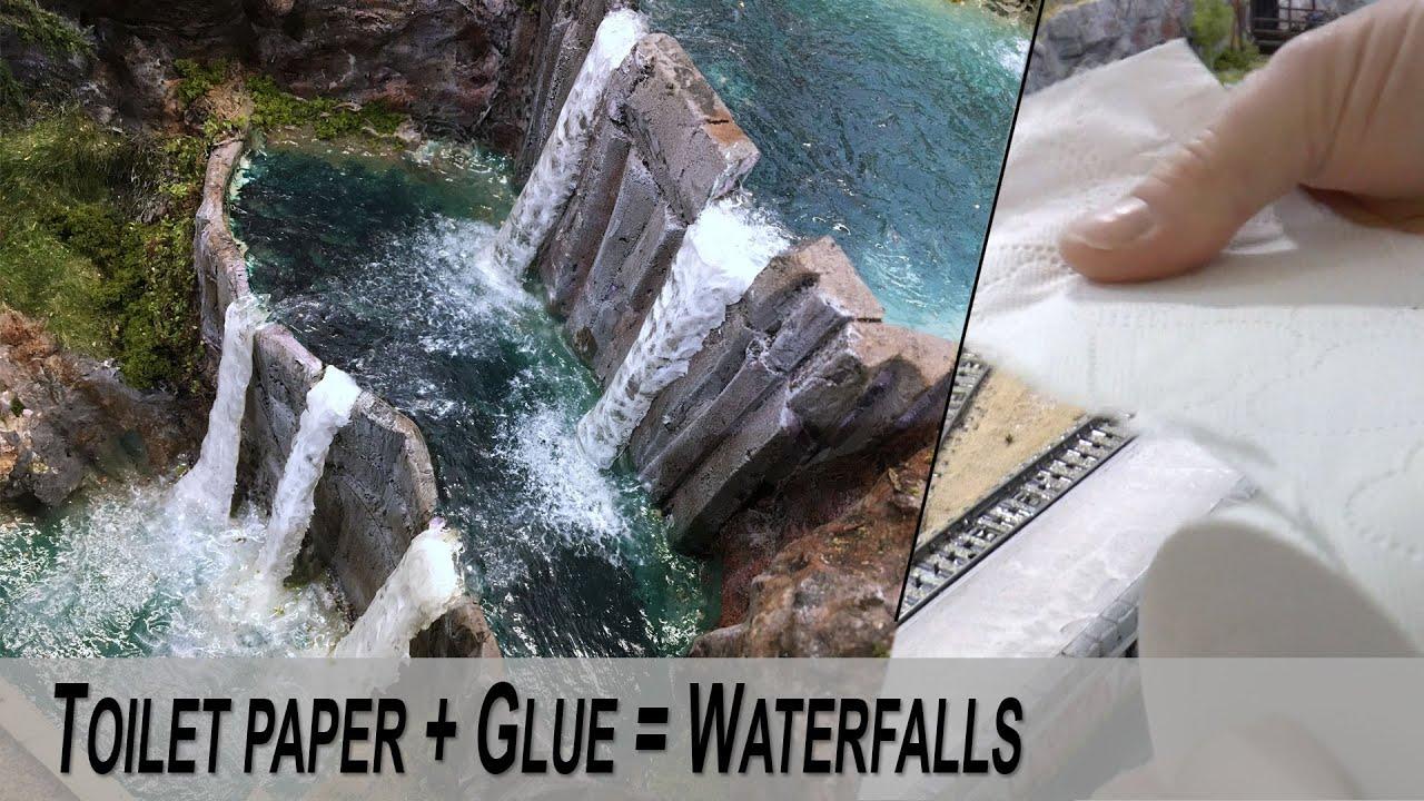 Model Realistic Waterfalls Detailed Guide Diy Youtube