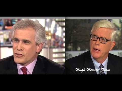 Hugh Hewitt and David Corn Battle Over O'Reilly Story-Corn Hangs Up
