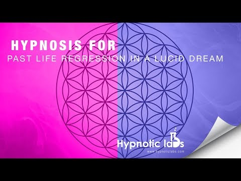 Hypnosis for Past Life Regression In a Lucid Dream (Deep Sleep, Forest Induction)