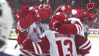 Badgers Score Three in the 3rd to Beat Penn State, 4-2