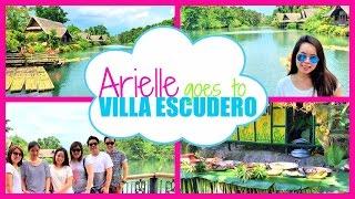 Arielle goes to Villa Escudero Philippines