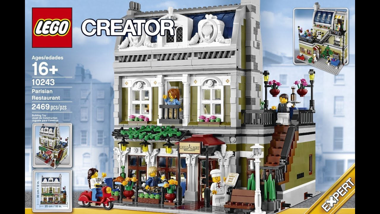 Restaurant Review 10243 Lego Creator Expert Parisian 8ON0wPnkX