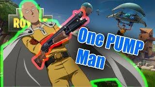 One PUMP Man (Fortnite One Punch Man)