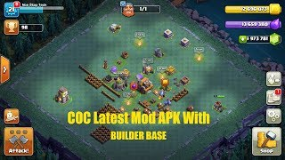 Clash Of Clans Latest Mod APK With Builder Base,Boat,Night Village -NST