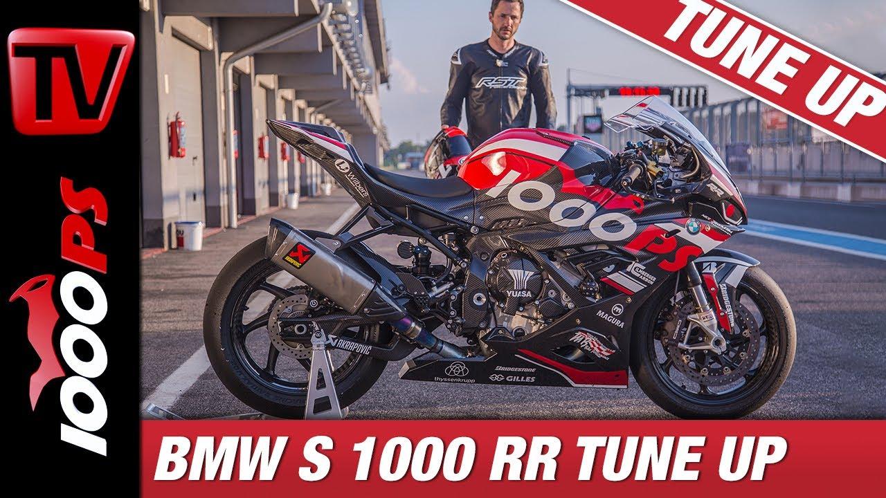 BMW S 1000 RR - Tuning zum 1000PS Rennmotorrad