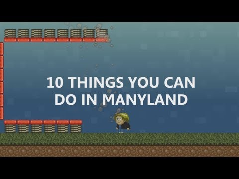 10 things you can do in manyland youtube