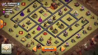 Clash of clans Finally Queen Level 30 + War Attack