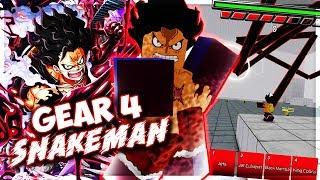 GEAR 4 SNAKEMAN SHOWCASE | Anime Battle Arena