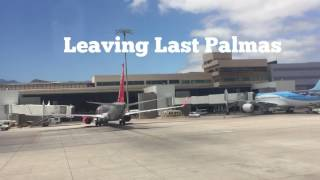 Thomas Cook Airways Manchester Airport To Las Palmas And Back