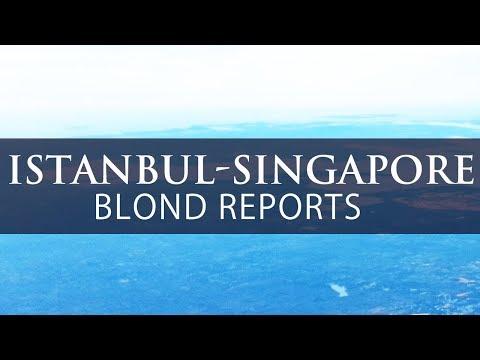 TURKISH AIRLINES Lisbon Istanbul Singapore TK54 TK55 Blond Reports Economy